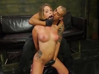 Young Sugar-daddy Gets Mistreated By A Big Dick In Her Brashness