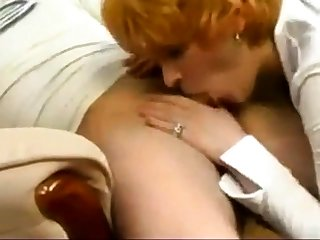 mom and son having lazy making love