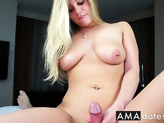 busty unprofessional foreplay