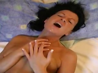 Untrained MILF lesbians amazing toying video