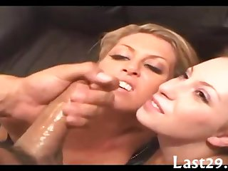 Man, His Wife And The Babysitter 3Some Sex