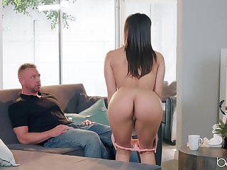Hardcore fucking on the bed with provocative pornstar Abella Danger