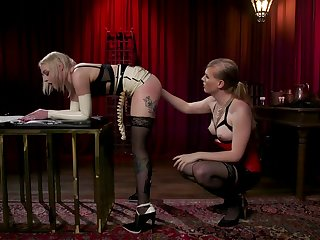 Beauteous Arielle Aquinas is fucked increased by punished by kinky crystal set