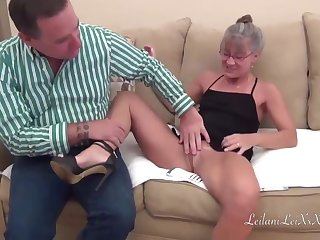 Dirty mature woman, Leilani Lei and her horny partner, Joe Hardick are having a rejected sex session