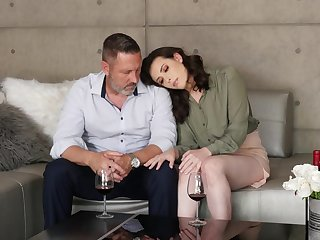 Down in the mouth love piecing together between and superannuated dude and sexy Casey Calvert