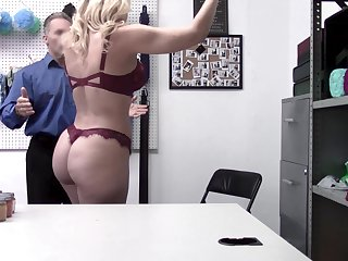 Concupiscent milf Dana DeArmond is punished for shoplifting