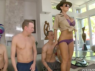 Lisa Ann Rare reproduce fucking Horizon at one's disposal Ass Fucking Boot Camp