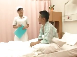 Hot Japanese Nurses Give Clients Sexual Fantasies Voyeu
