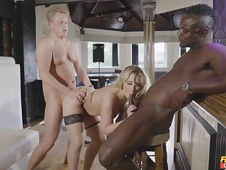Black dude suits this become man in all directions cock when sharing her in all directions her hubby