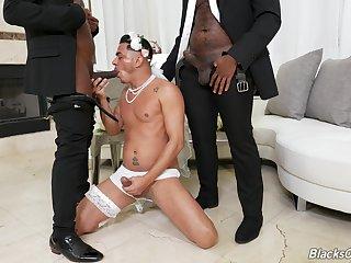 Kinky gay threeway less Avatar Akiya, Cesar Xes increased by Micah Martinez