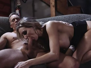 Romantic-Sensual Kenzie Taylor Bangs old Feller