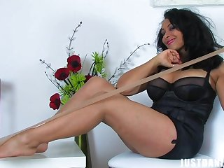 Solo video be expeditious for provocative Danica Collins pleasuring their way cravings