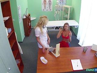 Nurse Seduces Stunning New Patient